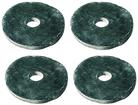"Mastic Sealer Washers, 1-3/4"" Diameter, Seals Pal Nuts And Clip Nuts to Body Panel, 4 Piece Set"