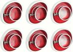 1964 IMPALA TAIL LAMP LENS SET (SHOW QUALITY)