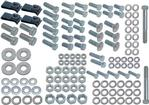1959 IMPALA / FULL 136 PIECE FRONT BUMPER MOUNTNG HARDWARE SET