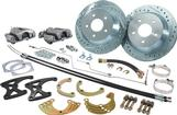 1968-74 Rear Big Brake Conversion Set with Black Calipers