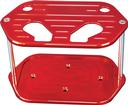 Red Ball Milled Billet Battery Box For 34 Series Optima Battery