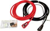 Universal 6' Under Hood Mount Top Post Battery Cable Set