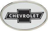 Chevrolet Bow Tie Logo Belt Buckle Framed - Oval