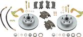 1958-64 Impala / Full Size Stock Spindle Front Disc Brake Conversion Set