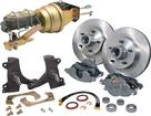 60-62 Pickup 6 Lug Modular Spindle Complete Front Disc Brake Conversion - With Manual Transmission