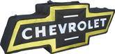 BOWTIE CANVAS BAG - BLACK WITH YELLOW BORDER - CHEVROLET