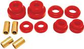 2010-15 Camaro BMR Reac Cradle Bushing Set, Poly, Full Bushing, Pro Version - Red