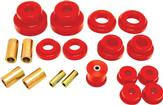 2010-15 Camaro BMR Rear Cradle Bushing Set, Pro Version - Red