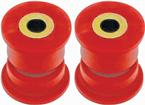 2010-15 Camaro BMR Rear Trailing Arm Bushing Set, Outer - Red
