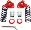 1984-92 F-Body BMR Front Coil-Over Conversion Set - Red