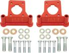 1993-02 F-BODY BMR C5 CALIPER CONVERSION BRACKETS - RED
