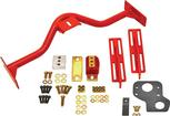 1967-69 Camaro/Firebird BMR Red 6 Speed Crossmember Conversion Set