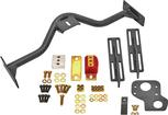 1967-69 Camaro/Firebird BMR Black 6 Speed Crossmember Conversion Set
