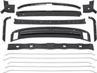 1969 F-BODY INNER ROOF PANEL BRACE KIT (14 PIECE) WELD-THRU