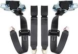 1993-02 GM F-BODY FRONT SEAT BELT SET - BLACK