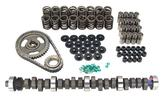 1963-95 Ford 289-302 Comp Cams Full Cam Set 1200-5200 RPM 260/260 Adv. 447 Lift