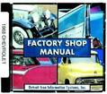 1971 CHEVROLET SHOP/BODY/OVERHAUL MANUAL - CD-ROM