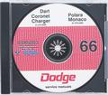 1966 Dodge Shop Manual CD Rom