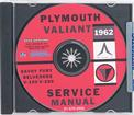 1962 Plymouth Shop Manual Cd-Rom