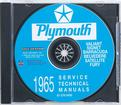 1965 Plymouth Shop Manual Cd-Rom