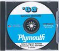 1968 Plymouth Shop Manual Cd-Rom