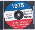 1975 Plymouth / Chrysler / Dodge Shop Manual CD Rom
