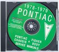 1978-79 Pontiac Factory Manual Complete Cd-Rom