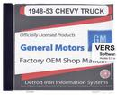 48-53 GM Truck Shop Manual - Cd-Rom