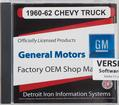 1960-62 GM Truck Shop Manual - Cd-Rom
