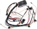 1967 Impala / Full Size Column Shift Auto Trans, Warning And Courtesy Lamps Underdash Wiring Harness