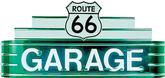 48 X 24 X 8 Route 66 Garage Neon Sign