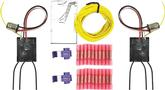 Universal 3 LED Taillight Sequencer Set