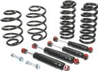 "1963-72 Chevrolet/GMC Truck with 2"" Drop Spindles Coil Spring/Shock Set;  1""/4"" Drop"