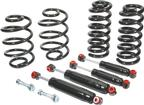 "1963-72 Chevrolet/GMC Truck with 2"" Drop Spindles Coil Spring/Shock Set; 1""/5"" Drop"