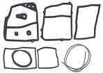 1967-72 PICKUP HEATER GASKET SET - WITH AIR CONDITIONING