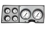 1973-87 GM Truck Classic Instruments Direct Fit 5 Gauge Cluster - White Hot