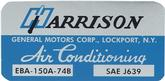 1974-75 Harrison AC Decal