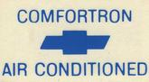 1968-70 Comfortron Window Decal