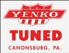 Yenko Tuned Window Decal