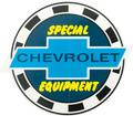3 CHEVROLET SPECIAL EQUIPMENT DECAL