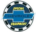 5 CHEVROLET SPECIAL EQUIPMENT DECAL