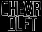 1958-66 Chevrolet Fleetside Black Tailgate Letters