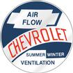 53-59 AIR FLOW HEATER DECAL