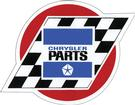 "4"" Chrysler Parts Decal"