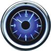 1955-56 Chevrolet  VLC Series Analog Clock with Silver Alloy Face and Blue Illumination