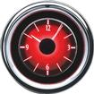 1955-56 Chevrolet  VLC Series Analog Clock with Silver Alloy Face and Red Illumination