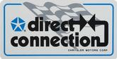 1-1/2 X 3-1/8 LATE 60'S - 80'S DIRECT CONNECTION DECAL