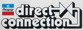 3-7/8 X 11 DIRECT CONNECTION DECAL