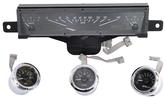 1961-62 Impala / Full-Size VHX Gauge System with Black Alloy Face and Red Illumination