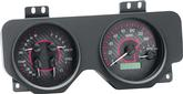 1969 Firebird Dakota Digital VHX Gauge Set with Carbon Fiber Look Face and Red Illumination